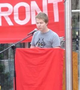 Oscar Dahl, Ung Vänster