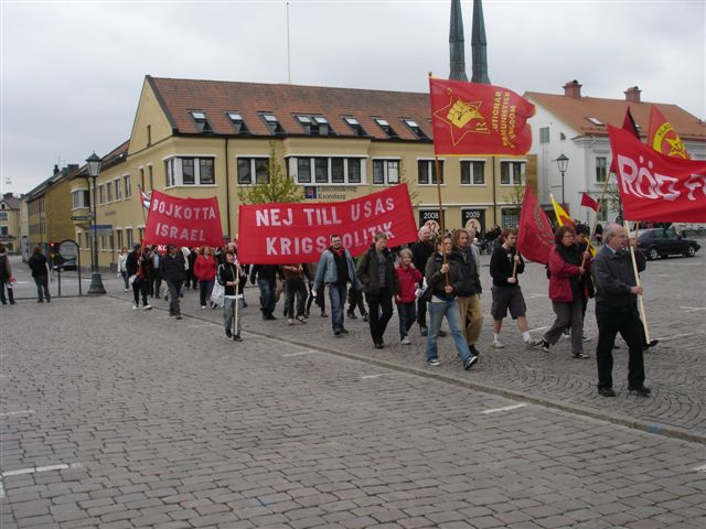Demonstrationståget