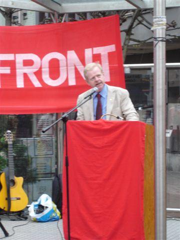 Anders Carlsson, Ordförande i Kommunistiska Partiet